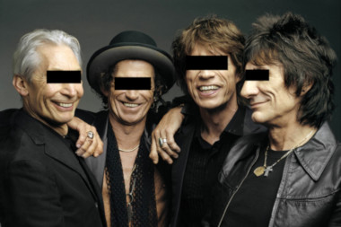 """FILE - This 2005 file photo, originally supplied by the Rolling Stones, shows members od the group, from left, Charlie Watts, Keith Richards, Mick Jagger, and Ron Wood posing during a photo shoot.  The Rolling Stones have called off their tour dates in Australia and New Zealand following the death of Mick Jagger's girlfriend and designer L'Wren Scott on Monday, March 17, 2014. The iconic band says in a statement Tuesday they """"are deeply sorry and disappointed to announce the postponement of the rest of their 14 ON FIRE tour."""" (AP Photo/The Rolling Stones, Mark Seliger-File)"""