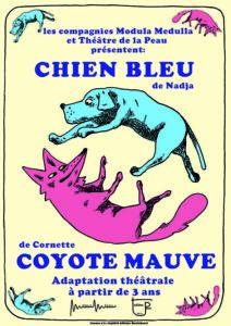 Chien Bleu Coyote Mauve (Cie Modula Medulla) 1